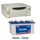 Microtek 800VA Sinewave Home UPS + 100AH Battery Combo